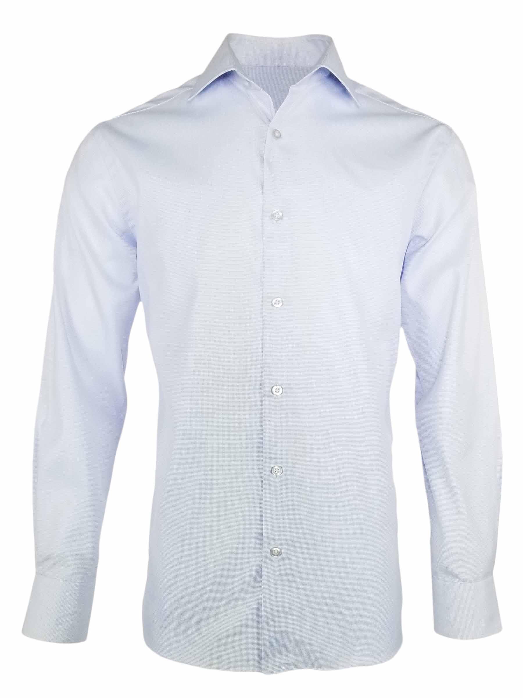 Men's Micro Blue Spots – Long Sleeve