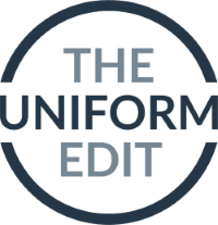 A Case Study On Us! The Uniform Edit. Logo