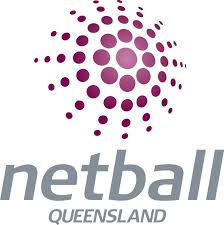 Netball Queensland Is Moving On Up Logo