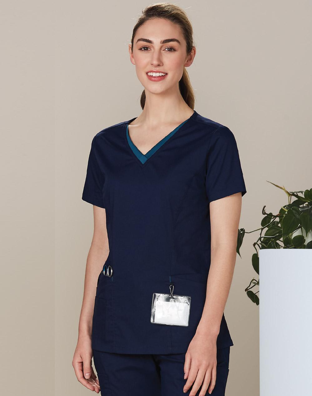 Royal Blue Scrubs for Women | Women's V-Neck Scrub ...